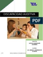 Ensayo Discapacidad Auditiva Terminado