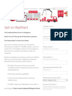 Sell on RedMart