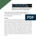 Campos Et Al., Barragem Subterrânea. Uma Alternativa de Captação e Barramento de Água Da Chuva No Semi-árido