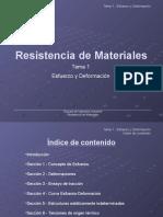 Resistencia de Materiales Tema 1 Parte 2