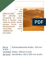 4. Los Desiertos