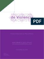 Informe Ejecutivo Final - Primer Indice Nacional de Violencia Machista