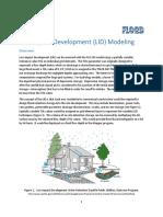 LID Low Impact Development Modeling