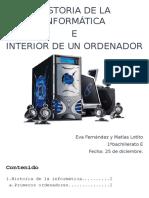 HISTORIA DE LA INFORMÁTICA - Matías Lotito y Eva Fernández