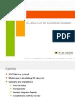 Radvision (3G-324M over TD-SCDMA for Handsets)