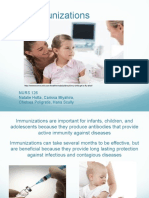 immunization teaching