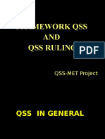 Framework QSS and QSS ruling-1.pps
