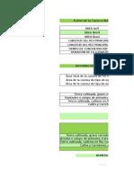 Coeficiente de Escorrentia (Método Numero de Curva) Rio Honda