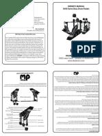 Dw 3000 Pedal Manual