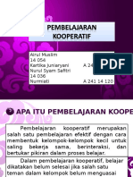 PPT Cooperatif Learning