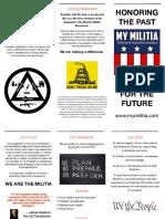 My Militia 2017 Tri Fold