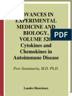 Cytokines and Chemokines in Autoimmune Disease