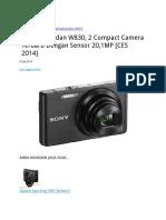Sony W810 Dan W830