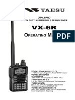 VX-6R Operating Manual