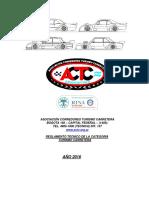 Reglamento Tecnico Actc_TC 2016