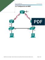 3.4.2.4 Lab - Configure HSRP