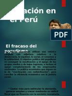 Inflación en el Peru