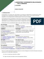 La Importancia de Un Laboratorio y Experimentos Relacionados Con La Densidad