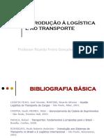 1- Introdução a Logística e ao Transporte