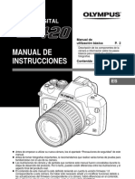 E-420 Manual de Instrucciones ES