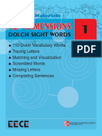 PDF Sight Words 1