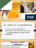 El Amor en El Matrimonio