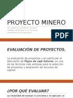Presentación PROYECTO MINERO
