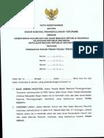 Penegakan Hukum Tindak Pidana Terorisme