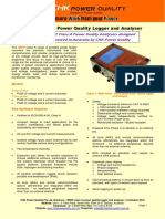 Brochure - MIRO Power Quality Logger and Analyser