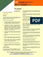 Technical Note MIRO Auotmatic FTP Uploads
