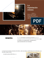 La Explotación Minera en México
