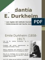 Ayudantía E. Durkheim