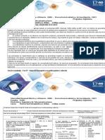 Guía de Actividades y Rubrica de Evaluación Fase IV - Ondas Electromagnéticas en Medios Guiados y Radiación