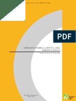 Cuaderno Práctico de Estudio Del Impuesto Sobre La Renta Personas Físicas (ISR)