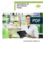 Descripción Cargo a.farmacia