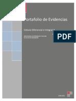 Portafolio de Evidencias Calculo 1