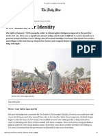 For Land, For Identity