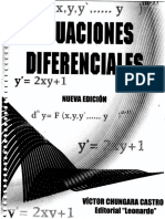 Ecuaciones Diferenciales_Chungara