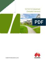 HUAWEI S5720-SI Series Switches Datasheet (Detailed Version)