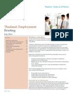 WFW Thailand EmploymentWorkforceReductions