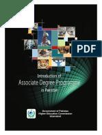 Associate Degree Booklet
