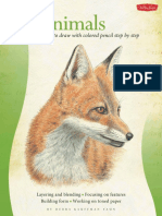 Animals in Colored Pencil Drawing Learn to Draw Step by Step .pdf