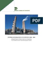 Power Generation Statistics -NBS 2010-14
