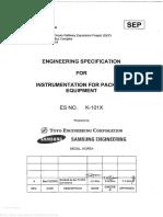 [K-101X] Eng'g Spec for Instrumentation for Package Equipment_Rev.4.pdf