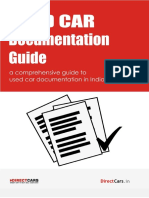 Used Car Documentation Guide1