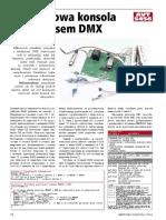 Konsola DMX