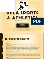 Vela Sports Athletic Pre