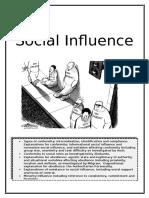 Social Influence Workbook2