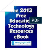 EmergingEdTech's 2013 Free Education Technology Resources eBook.pdf