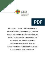 Tesis Santos Ruiz, 2015 Funció mitocondrial Hepatocitos
